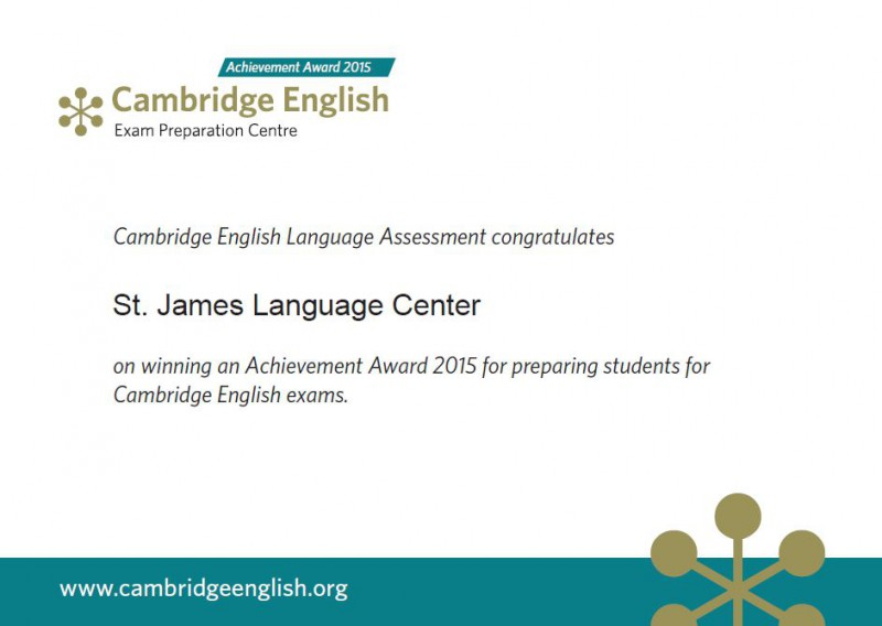 Exámenes de Cambridge: Convocatoria de junio, 2015