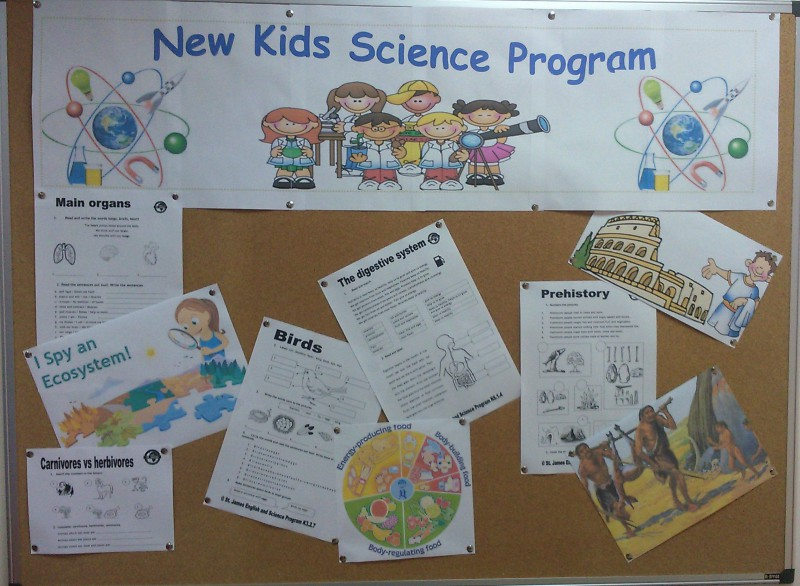 St. James English and Science Program